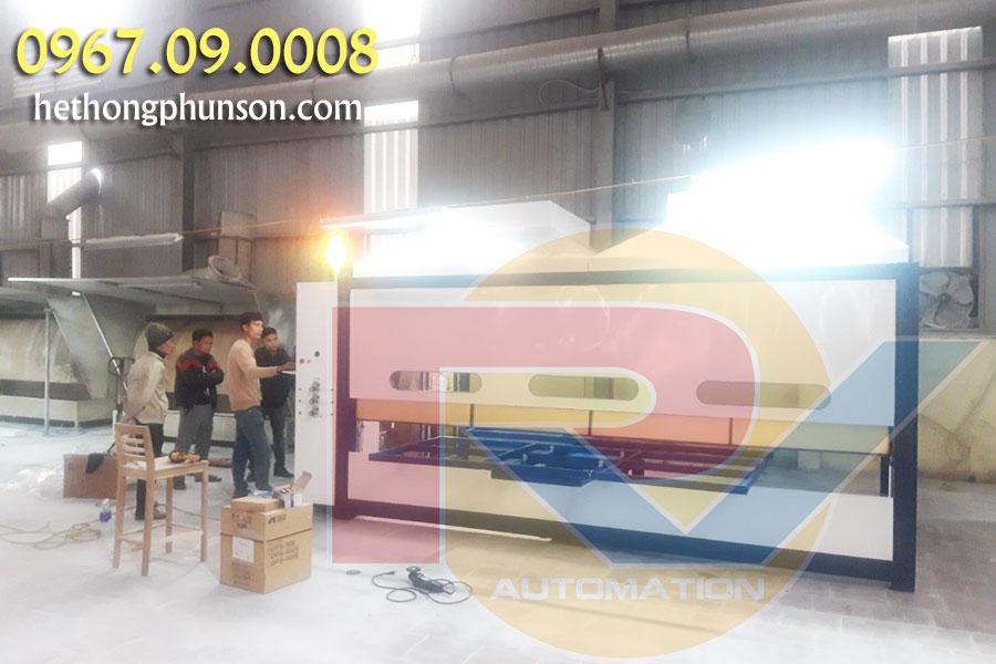Chi phí sản xuất máy phun sơn tự động